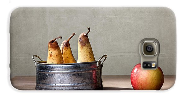 Apple And Pears 01 Galaxy S6 Case by Nailia Schwarz