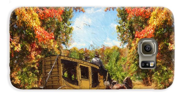 Autumn's Essence Galaxy S6 Case by Lourry Legarde