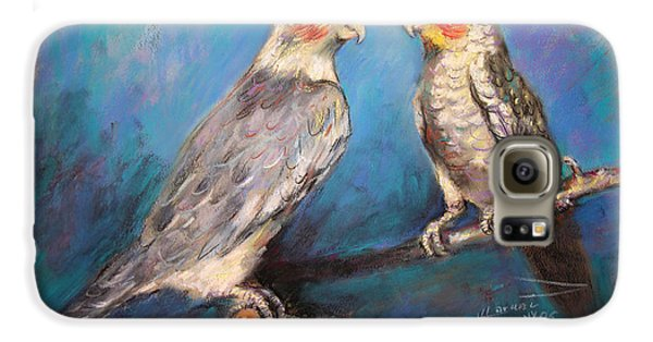 Coctaiel Parrots Galaxy S6 Case by Ylli Haruni