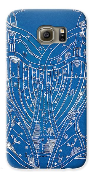Corset Patent Series 1905 French Samsung Galaxy Case by Nikki Marie Smith