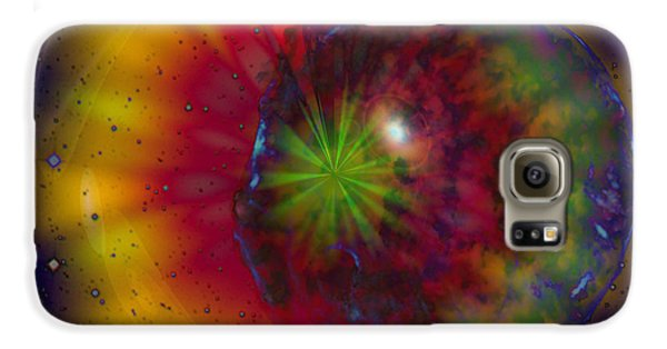 Cosmic Light Galaxy Case by Linda Sannuti
