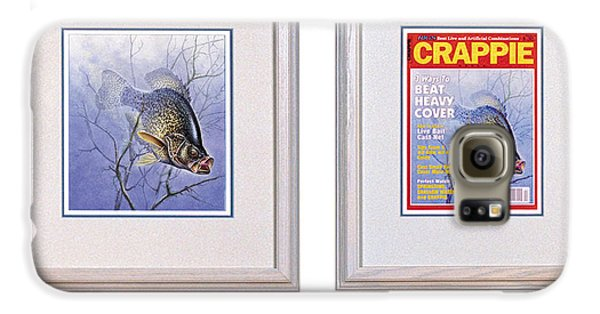 Crappie Magazine And Original Galaxy S6 Case by JQ Licensing