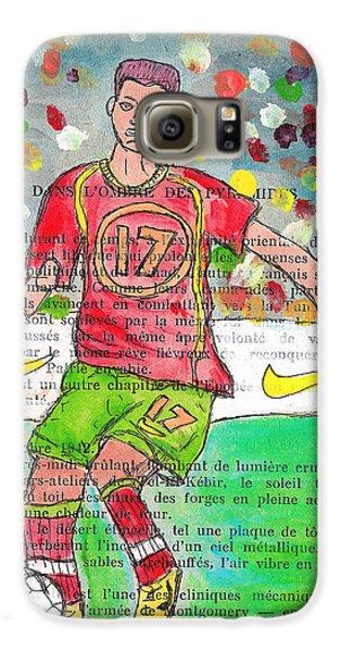 Cristiano Ronaldo Galaxy S6 Case by Jera Sky