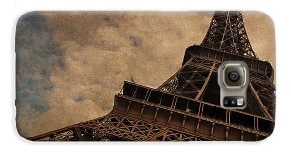 Eiffel Tower 2 Galaxy S6 Case by Mary Machare