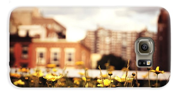 Flowers - High Line Park - New York City Galaxy S6 Case by Vivienne Gucwa