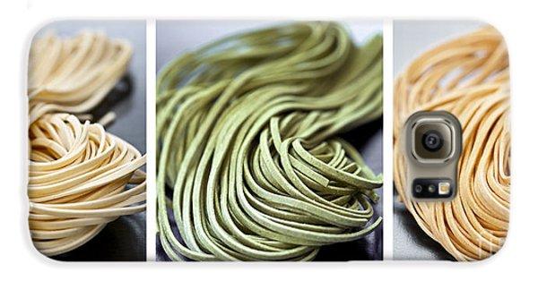 Fresh Tagliolini Pasta Galaxy S6 Case by Elena Elisseeva
