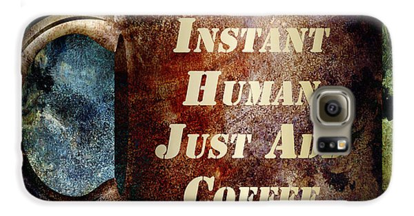Gritty Instant Human Galaxy Case by Angelina Vick