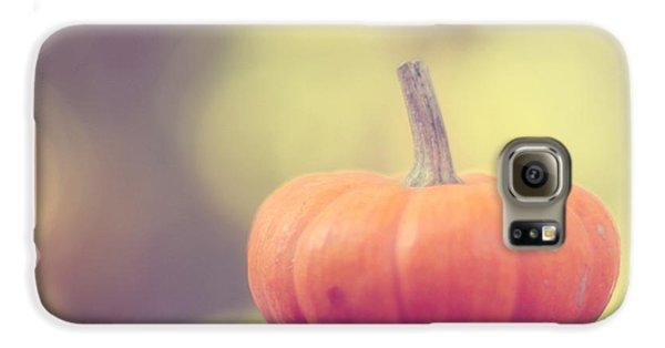 Little Pumpkin Galaxy S6 Case by Amy Tyler