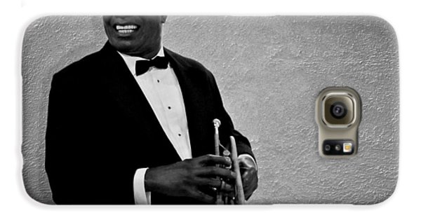 Louis Armstrong Bw Galaxy S6 Case by David Dehner
