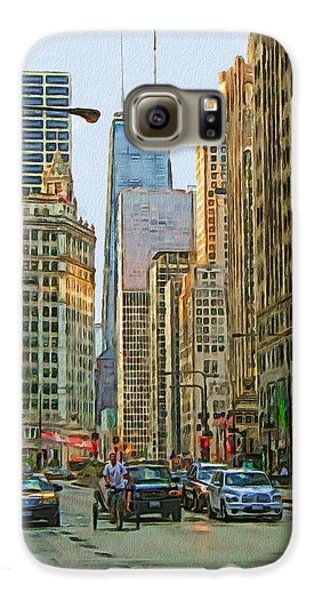 Michigan Avenue Galaxy S6 Case by Vladimir Rayzman