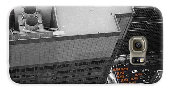 New York Cabs Galaxy S6 Case by Naxart Studio