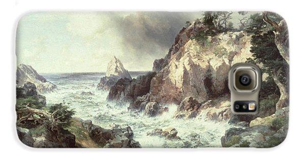 Point Lobos At Monterey In California Galaxy S6 Case by Thomas Moran
