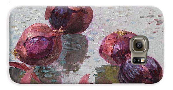 Red Onions Galaxy S6 Case by Ylli Haruni