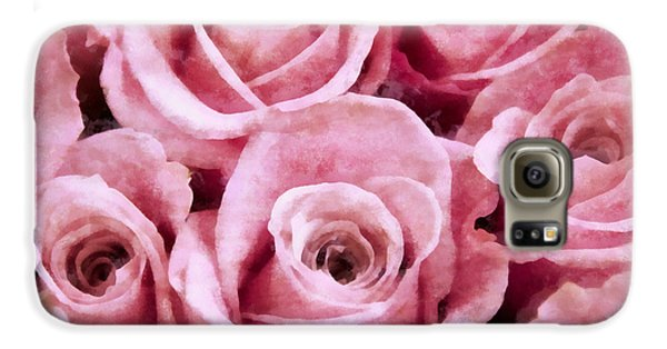 Soft Pink Roses Samsung Galaxy Case by Angelina Vick