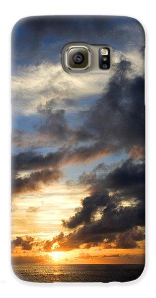 Tropical Sunset Galaxy S6 Case by Fabrizio Troiani