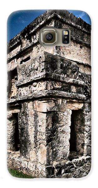 Tulum Ruinas 1 Samsung Galaxy Case by Skip Hunt