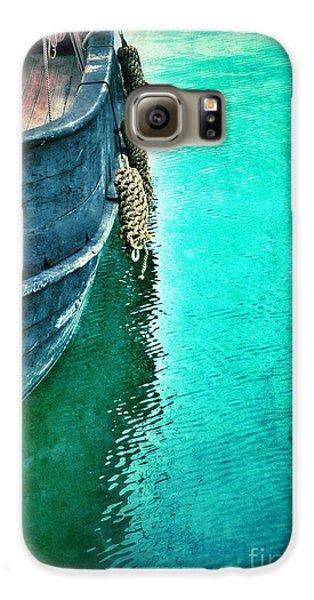 Vintage Ship Galaxy S6 Case by Jill Battaglia