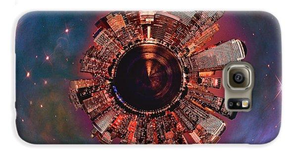 Wee Manhattan Planet Samsung Galaxy Case by Nikki Marie Smith