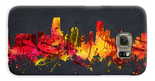 Miami Cityscape 07 Galaxy S6 Case by Aged Pixel