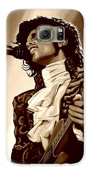 Prince The Artist Galaxy S6 Case by Paul Meijering