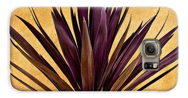 Purple Giant Dracaena Santa Fe Galaxy S6 Case by John Hansen