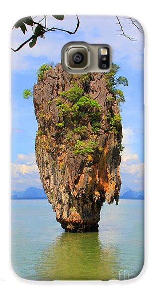007 Island Galaxy S6 Case by Mark Ashkenazi
