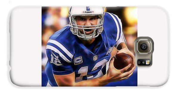 Andrew Luck Collection Galaxy S6 Case by Marvin Blaine