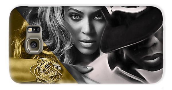 Beyonce Jay Z Collection Galaxy S6 Case by Marvin Blaine