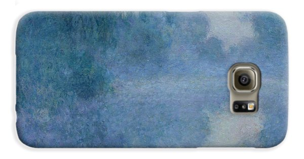 Branch Of The Seine Near Giverny Galaxy S6 Case by Claude Monet
