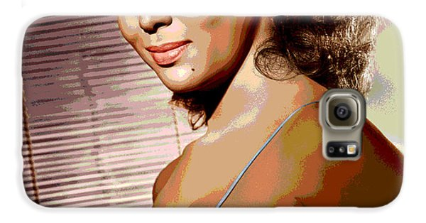 Dorothy Jean Dandridge Galaxy S6 Case by Charles Shoup