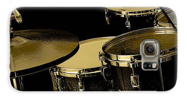 Drums Collection Galaxy S6 Case by Marvin Blaine