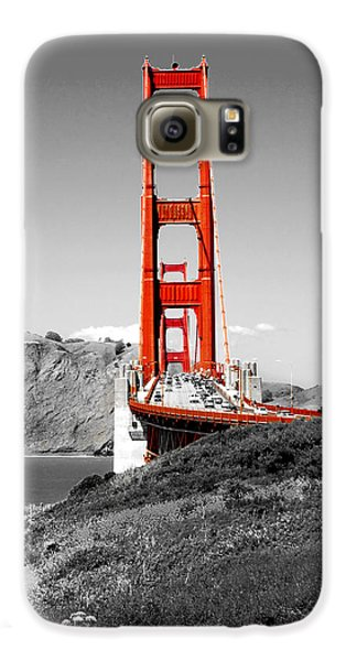 Golden Gate Galaxy S6 Case by Greg Fortier