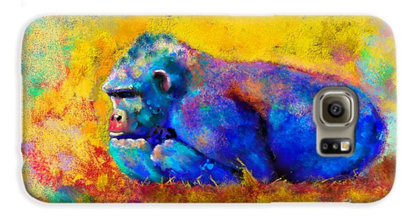 Gorilla Gorilla Galaxy S6 Case by Betty LaRue