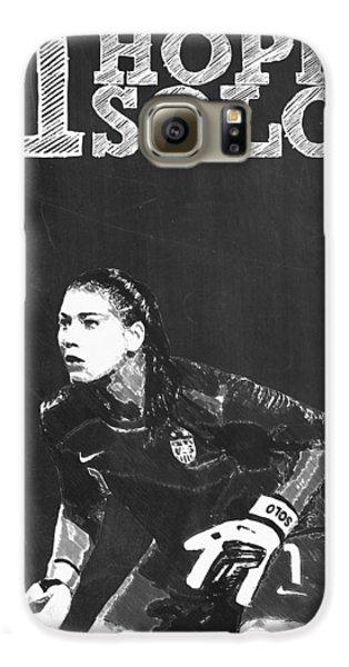 Hope Solo Galaxy S6 Case by Semih Yurdabak