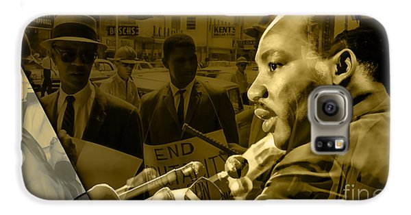 Martin Luther King Collection Galaxy S6 Case by Marvin Blaine