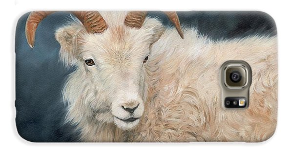 Mountain Goat Galaxy S6 Case by David Stribbling