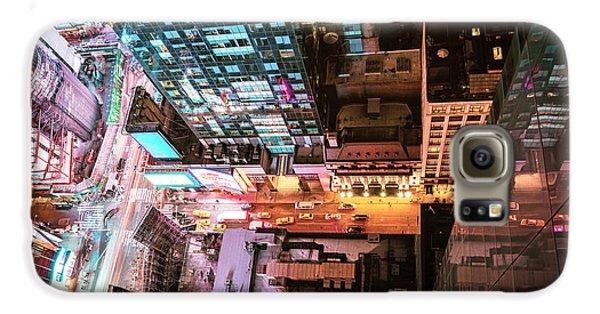 New York City - Night Galaxy S6 Case by Vivienne Gucwa