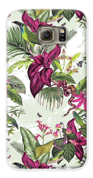 Nicaragua Galaxy S6 Case by Jacqueline Colley