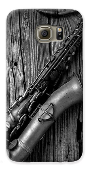 Old Sax Galaxy S6 Case by Garry Gay