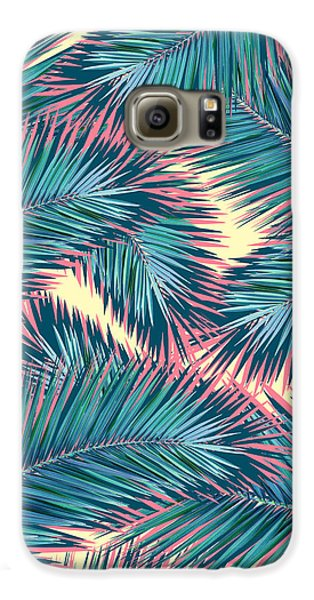 Palm Trees  Galaxy S6 Case by Mark Ashkenazi