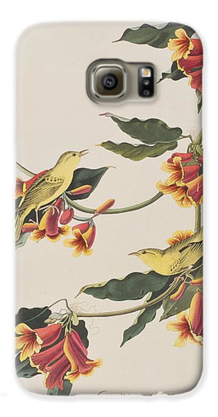 Rathbone Warbler Galaxy S6 Case by John James Audubon