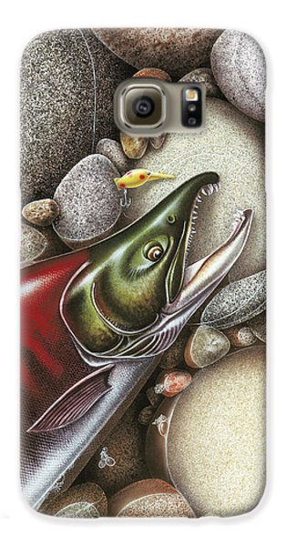 Sockeye Salmon Galaxy S6 Case by JQ Licensing