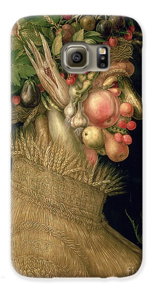 Summer Galaxy S6 Case by Giuseppe Arcimboldo