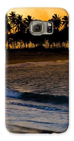 Sunset At The Beach Samsung Galaxy Case by Sebastian Musial