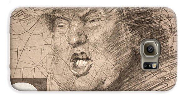 Trump Galaxy S6 Case by Ylli Haruni