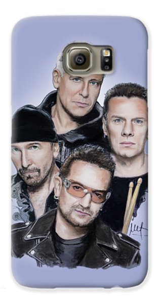 U2 Galaxy S6 Case by Melanie D