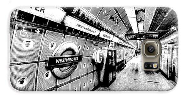 Underground London Art Galaxy S6 Case by David Pyatt