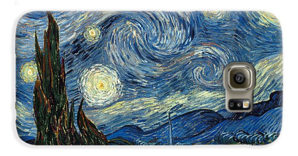 Van Gogh Starry Night Galaxy S6 Case by Granger