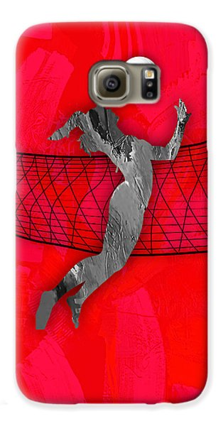 Vollyball Collection Galaxy S6 Case by Marvin Blaine