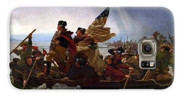 Washington Crossing The Delaware Galaxy S6 Case by Emanuel Leutze
